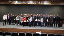 Onur Öğrencilerine Belge Takdim Töreni Gerçekleştirildi